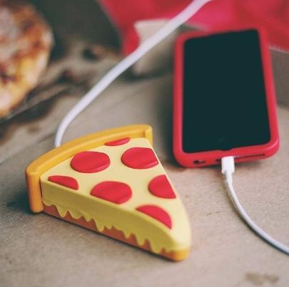 Powerbank для телефона в виде пиццы из AliExpress