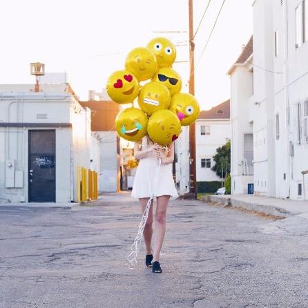 """Воздушные шары """"Emoji"""" из AliExpress"""