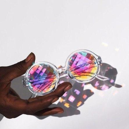 кутежные очки калейдоскоп из AliExpress