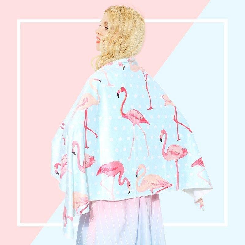 Полотенце с фламинго из AliExpress