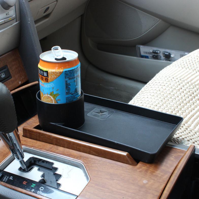 Поднос с подстаканником для авто из AliExpress