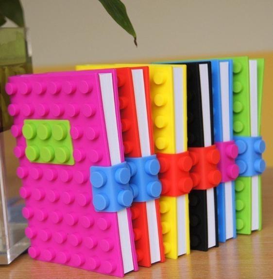 Блокнот в стиле lego из AliEspress