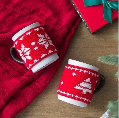 чашки в свитерах из aliexpress