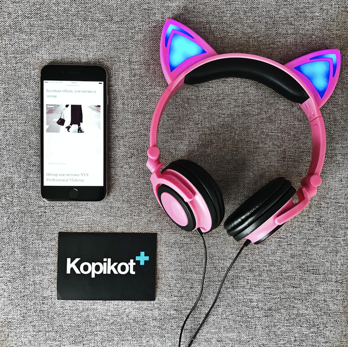 Обзор на наушники Cat Ear LX