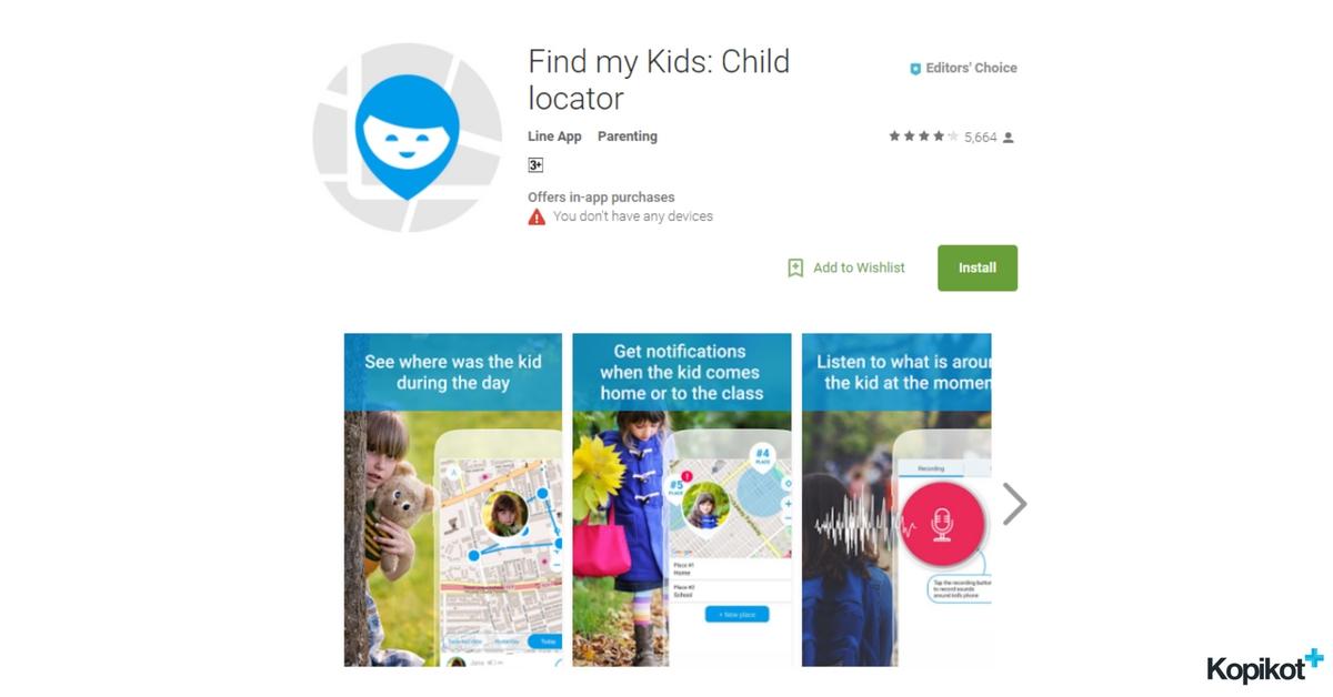Где мои дети: Find my Kids Child locator