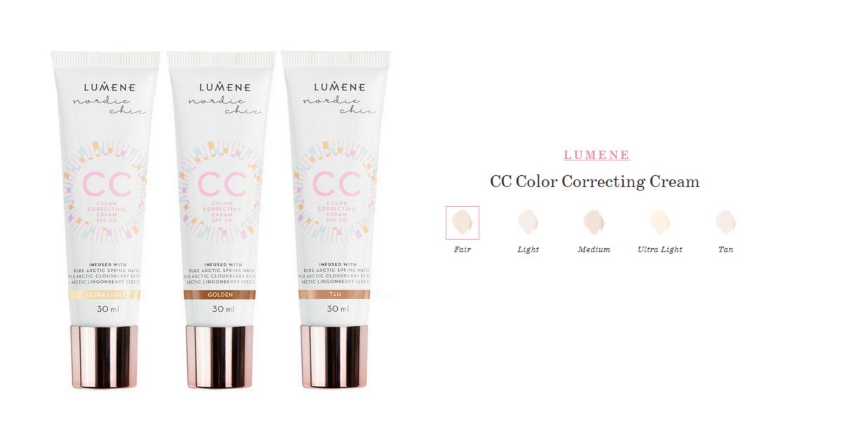 СС крем для лица от Lumene—CC Color Correcting Cream