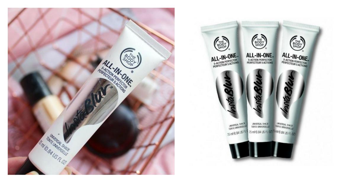 Универсальный праймер для лица—All In One Instablur от The Body Shop