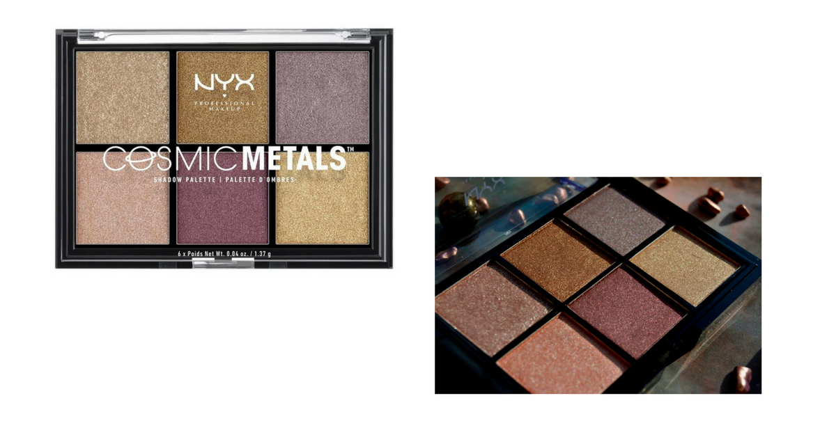 Тени для век NYX Cosmic Metals Shadow Palette