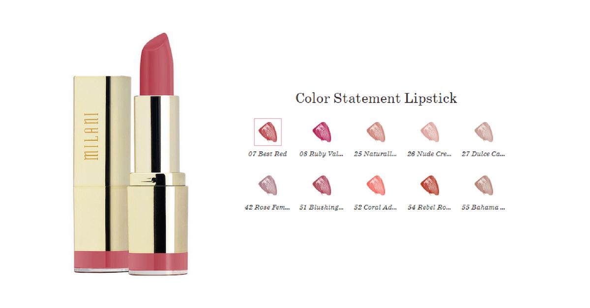 Помада от MILANI Color Statement Lipstick