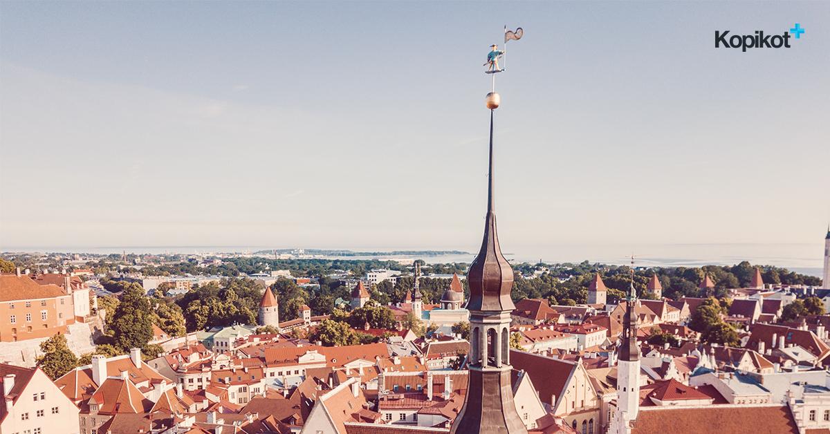 Таллин с высоты